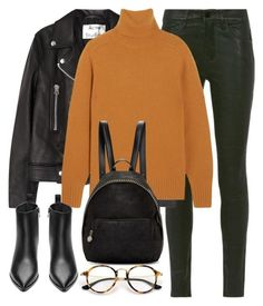 """Untitled #2921"" by elenaday ❤ liked on Polyvore featuring Frame Denim, Acne Studios, Chloé, STELLA McCARTNEY and Ray-Ban"
