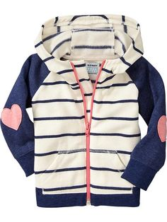 Striped Applique Hoodies for Baby Product Image