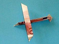 Money airplane (instructions in German) Geld - Segelflugzeug