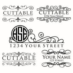 Mail Box Monogram Frames Cuttable Design Cut File. Vector, Clipart, Digital Scrapbooking Download, Available in JPEG, PDF, EPS, DXF and SVG. Works with Cricut, Design Space, Sure Cuts A Lot, Make the Cut!, Inkscape, CorelDraw, Adobe Illustrator, Silhouette Cameo, Brother ScanNCut and other compatible software.