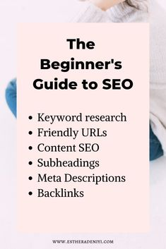 SEO Marketing is so important in your business! Here is tips & tricks to learn the basic SEO!