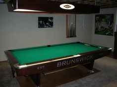 Antique Pool Table Brunswick Balke Collender Cos The Anniversary - Brunswick ambassador pool table