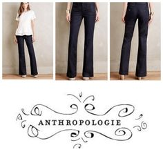 Anthropologie Pilcro Flared Trouser Jeans New with tags. Originally $128. Bought on sale for $79.95. Flattering and versatile cut. Anthropologie Jeans Flare & Wide Leg
