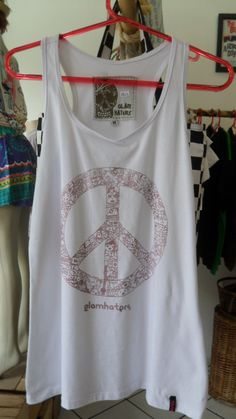 Regata Peace and Love  www.elo7.com.br/dixiearte