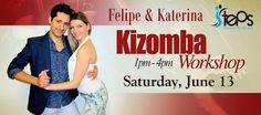 Kizomba Workshop With Felipe and Katerina At Steps Dance Studio