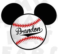 Printable DIY Baseball Mickey Mouse Walt Disney by MyHeartHasEars Baseball Birthday, Baseball Party, Boy Birthday, Birthday Ideas, Sports Party, Baseball Shirts, Mickey Mouse Shirts, Mickey Minnie Mouse, Mickey Party