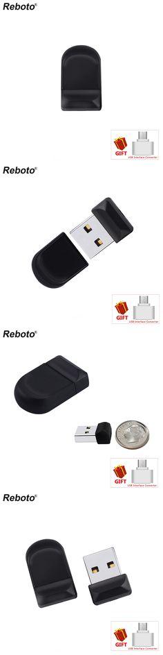 Super Mini Black USB Flash Drive 64GB High Speed Pen Drive 32GB Waterproof Memory Stick 8GB 16GB Creative USB Stick