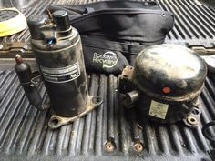 Get more than twice as much money for your compressors! It may take about 15 minutes, but there will be a couple pounds of copper in there, and even a smidge. Scrap Recycling, Homemade Tractor, Welding Shop, Knife Patterns, Scrap Gold, Melting Metal, Metal Detecting, Gold Diy, Metal Projects