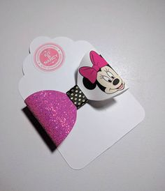 Check out this item in my Etsy shop https://www.etsy.com/uk/listing/519062682/handmade-minnie-mouse-print-bow-pink