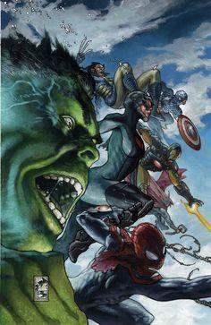 Avengers •Simone Bianchi