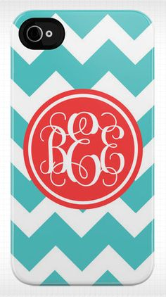 personalized chevron iphone case
