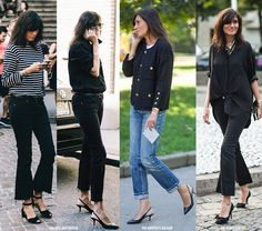 Emmanuelle Alt and her well-known casual minimal style. Here are some of the best looks she wore for 2015 - 2016 fashion weeks.