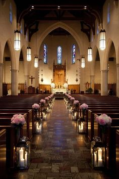 Captivating 21 Stunning Church Wedding Aisle Decoration Ideas To Steal