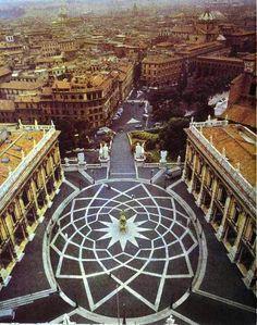 Day (1) Ancient Rome - Piazza del Campidoglio: Wonderful views over the forum.