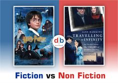 Non-Fiction and Fiction can be seen in all kinds of arts and entertainment, including movies, literature, plays, etc. Fiction can Differentiation, Arts And Entertainment, Nonfiction, Plays, Literature, Entertaining, Movie Posters, Pictures, Games