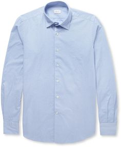 Incotex Glanshirt Slim-Fit Cotton Oxford Shirt