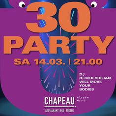 Have a good time! 30th Party, Restaurant Bar, Kitchens, Kaiserschmarrn