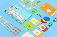 DIY Toddler Explore The World Kit