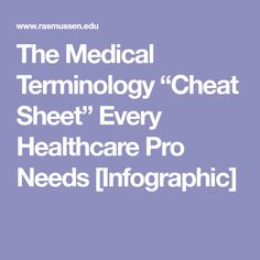 Medical terminology for dummies cheat sheet medical sites the medical terminology cheat sheet every healthcare pro needs infographic fandeluxe Gallery