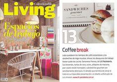 Revista Livng Brownies, Gourmet Sandwiches, Printing Press, Breakfast, Homemade, Pies