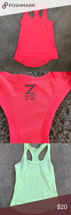 Zella Tank Top Athletic racer back Tank Top. Perfect condition Zella Tops Tank Tops