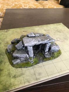 Terrain 40k, Warhammer Terrain, Game Terrain, Wargaming Table, Wargaming Terrain, Dnd Mini, Styrofoam Art, Dungeons And Dragons Miniatures, Diy Table Top