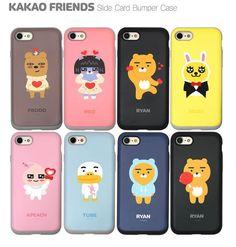 KAKAO FRIENDS Slide Card Bumper Cell Phone Case Cover Protector For iPhone7/Plus #FRIENDSPOPKAKAO