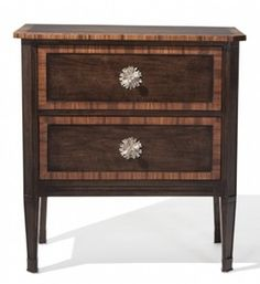 Nobiliare Nightstand  Traditional, Transitional, Wood, Chests  Commode by Ebanista