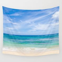 Blue Sea by Shlomit on Etsy
