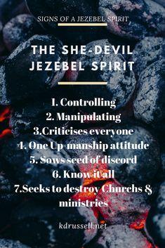 15 Best jezebel images in 2018 | Jezebel spirit, Holy ghost