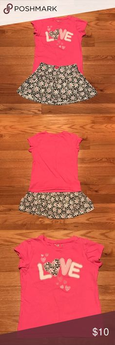 8dc52ccdc711a Girls Size 4 & 5 Jumping Beans Skorts Set Girls Size 4 Skorts with matching  Size