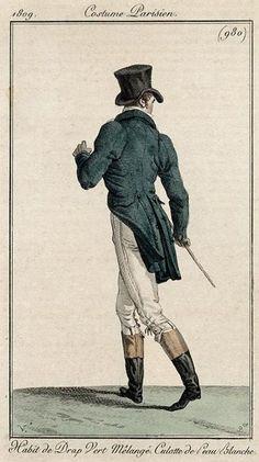 Men's ensemble, 1809