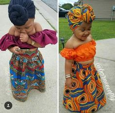 Baby African Clothes, African Dresses For Kids, African Babies, Latest African Fashion Dresses, African Print Fashion, Cute Baby Clothes, Cute Kids Fashion, Baby Girl Fashion, Outfits Niños