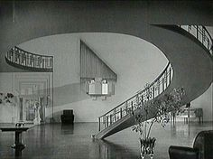 1930's home interior, hollywood style -