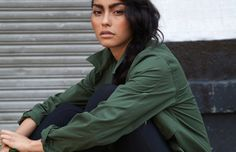 """46. Adrianne Ho  Occupation: Model Twitter Handle: @Adrianne Ho  Her Twitter profile instructs you to """"follow a ho,"""" and it's that sense of humor that makes this model so attractive. Well, that and the obvious. The Toronto native is doing it big in the city, killing the game with her drop-dead gorgeous tomboy style. The half-French, half-Chinese beauty is rising quickly in the modeling world. Smell the success. Follow your nose."""