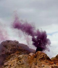 Smoke Signals Paint Mexico's Desert Sky - My Modern Metropolis