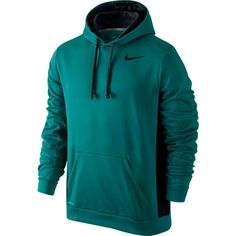 Mens KO Therma Fit Pullover Hoodie Radiant Emerald/Black, XX-Large -- You can find more details by visiting the image link. (This is an affiliate link) Mens Sweatshirts, Men's Hoodies, Nike Men, Windbreaker, Pullover, Fitness, Jackets, Shopping, Clothes
