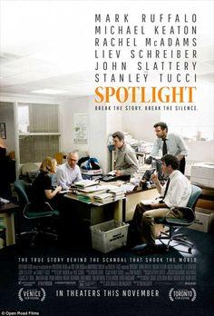 Producciones como Spotlight son tan insólitas que parece que el reloj del tiempo se ha debido parar
