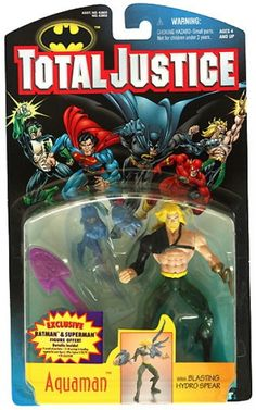 DC Total Justice Carded Aquaman  Image 1