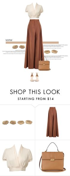 """""""NYFW #7"""" by anja-173 ❤ liked on Polyvore featuring Zimmermann, Miss Selfridge, Lanvin, Zara and NYFW"""