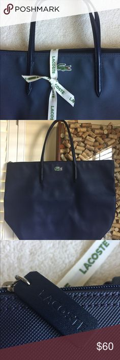 I just added this listing on Poshmark: Lacoste travel shopping bag. #shopmycloset #poshmark #fashion #shopping #style #forsale #Lacoste #Handbags