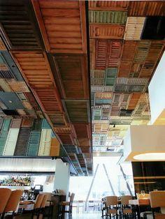ceiling - very unique