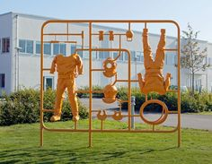 Sculpture could be playground, fine art, or commercial advertising: Michael Johansson