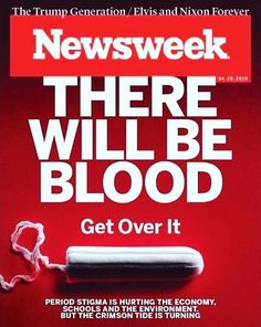 When Newsweek met Menstruation it kept meandering in the suburbia instead of marching Downtown menstrual issues!