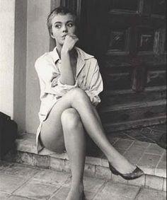"""Jean Seberg in """"Bonjour Tristesse"""""""