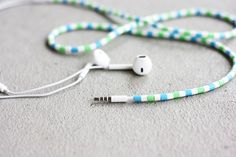 diy hama bead earphones - your own style & no more wire mess