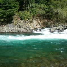 Elk River at Port Orford, Oregon