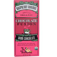 The Tea Room, Chocolate Fusion, Dark Chocolate, Raspberry Rooibos, 1.8 oz (51 g)