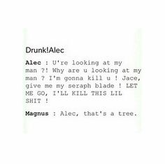 Tree ...  shadowhunters, alexander 'alec' lightwood, magnus bane, the mortal instruments, malec, jace herondale