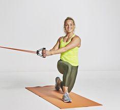 Vartti riittää! Syvät vatsalihakset kuntoon Oona Tolppasen pikatreenillä | Me Naiset Personal Trainer, Golf Clubs, Sports, Six Pack Abs, Sport